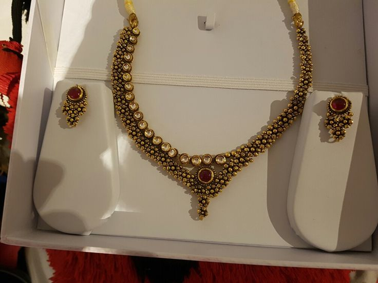 Beautiful onebof a kind antique gold necklace