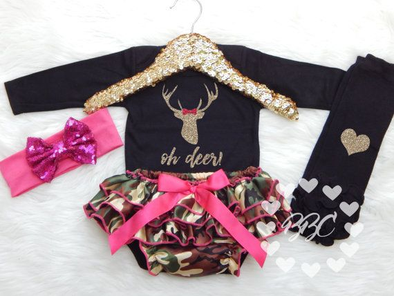 Baby Girl Camo Clothes Alluring 36 Best Baby Girl Images On Pinterest  Little Girl Outfits Newborn Design Ideas
