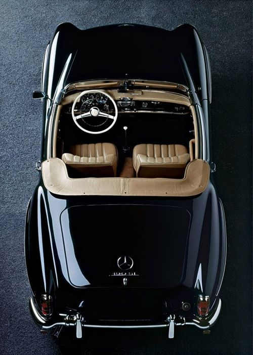 Oh what fun this would be!    Mercedes-Benz 190 SL  Rene Staud Photography