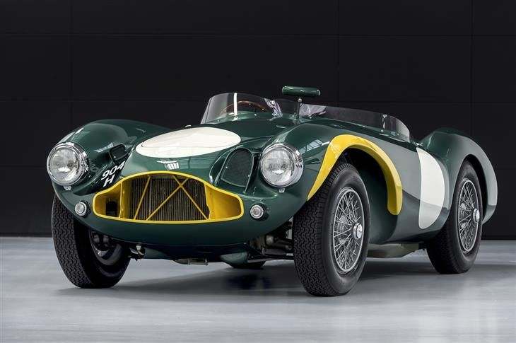 1953 Aston Martin DB3S ex David Brown Racing Team Car