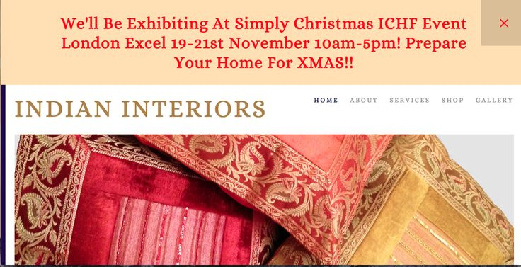 "Indian Interiors on Twitter: ""#Countdown 6 weeks to the @ichf event @ExCeLLondon http://t.co/dPhcbkNn9d #spreadtheword We'll be there! #funtimes http://t.co/8fONy1hEn9"""