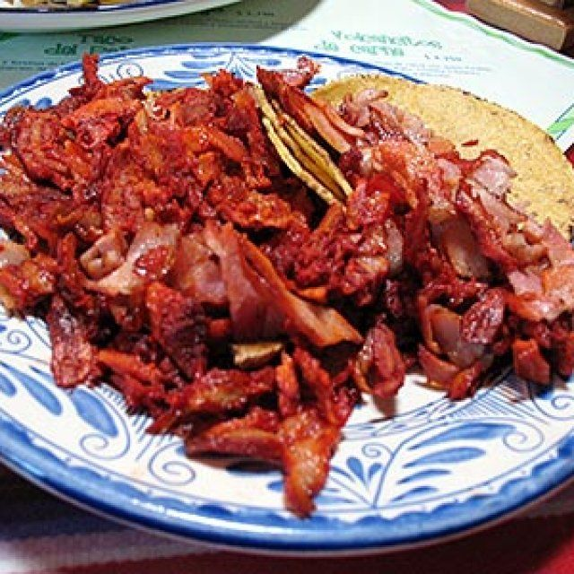Carne al Pastor Casera