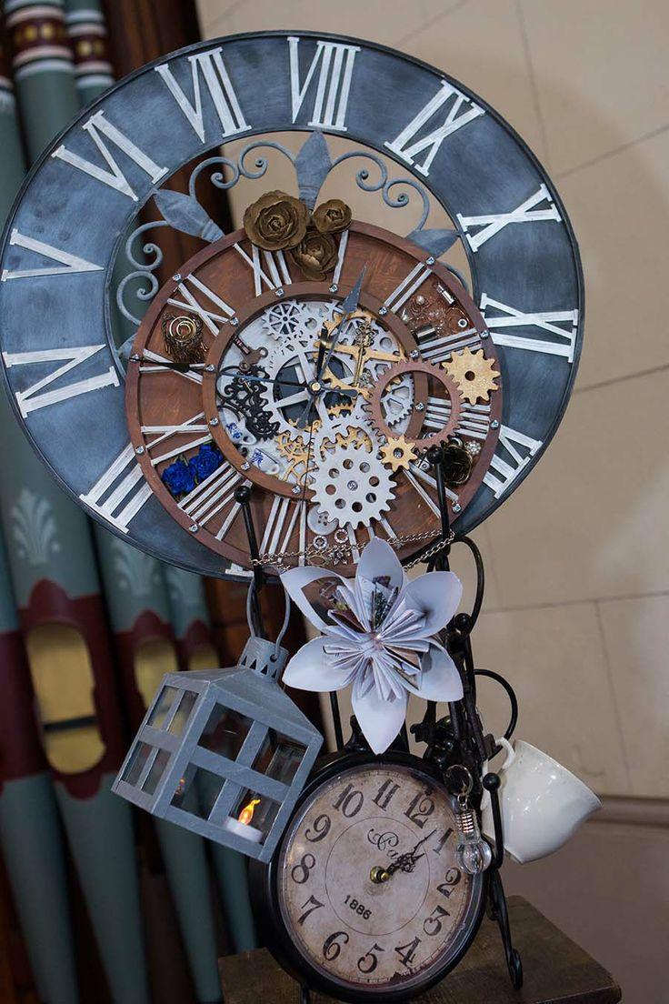 My DIY'd clock centrepiece