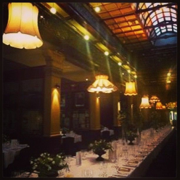 Vintage shades for a classic venue- Lush Lighting Adelaide