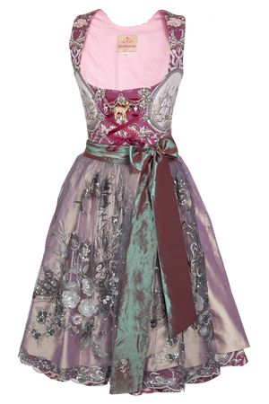 Dirndl Couture by Astrid Söll - Beere/creme