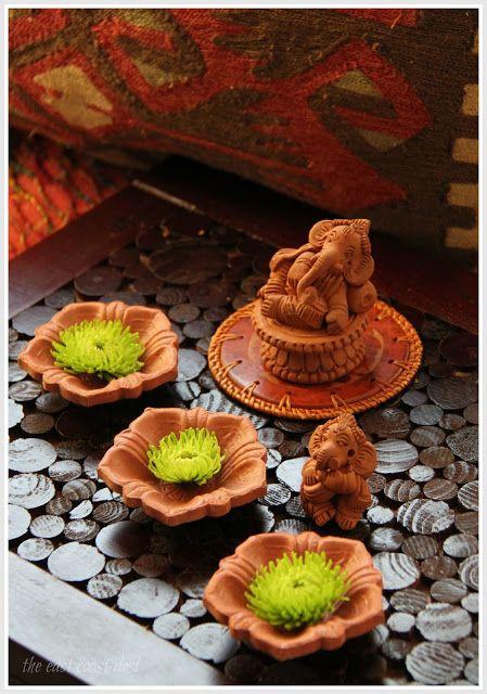 Terracotta Ganeshas for Ganesh Chaturthi decor