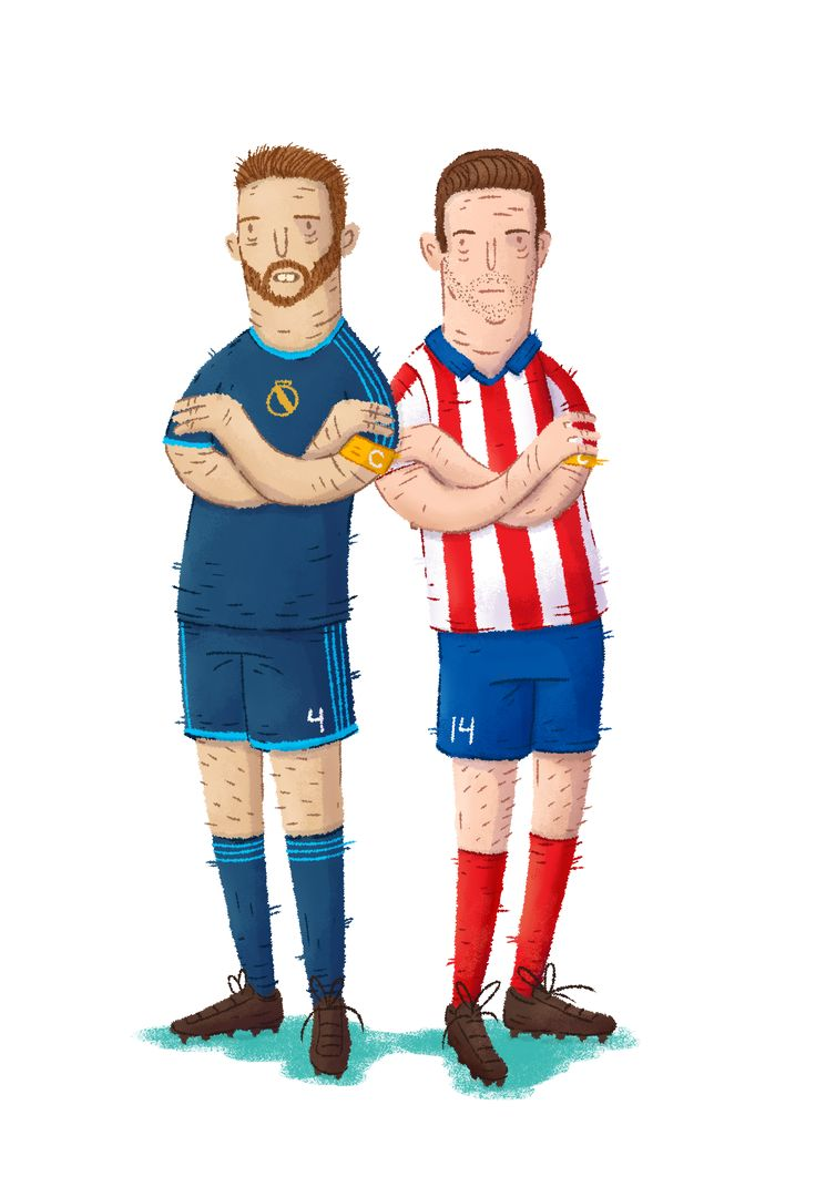 Sergio Ramos, Real Madrid + Gabi, Atletico Madrid #THEBIGFOOT #FOOT #FIFA #PES #PS4 #XBOX #JEUX #JEUXVIDEO #SOCCER #RAMOS #ESPAGNE #REAL #MADRID #SEVILLE #ATLETICO #GABI #DESSIN #ILLUSTRATION