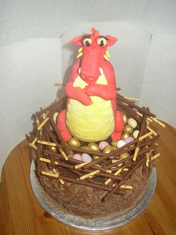 dragon nest and dragon cake