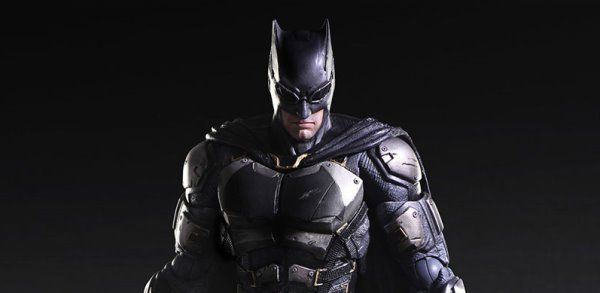 New Images: Justice League – Batman Tactical Suit – Play Arts Kai Figure