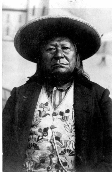 Wenatchi (Chinook tribe )Chief Moses