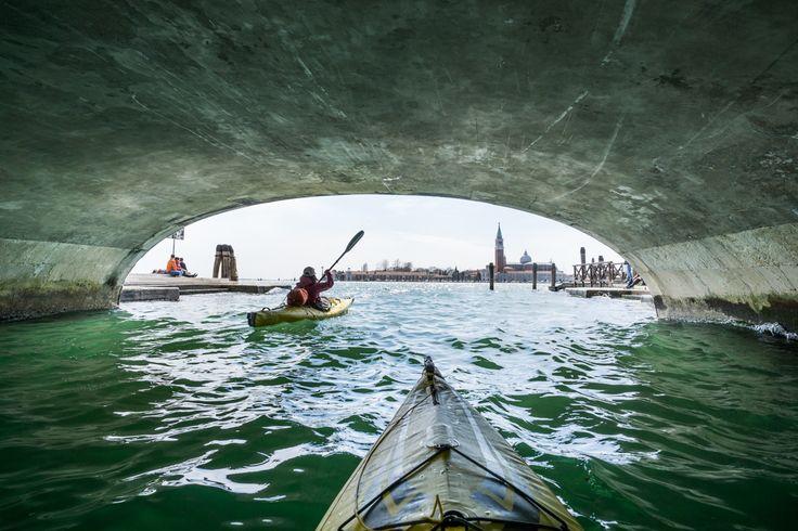kayaking in Venice © Ruggero Arena