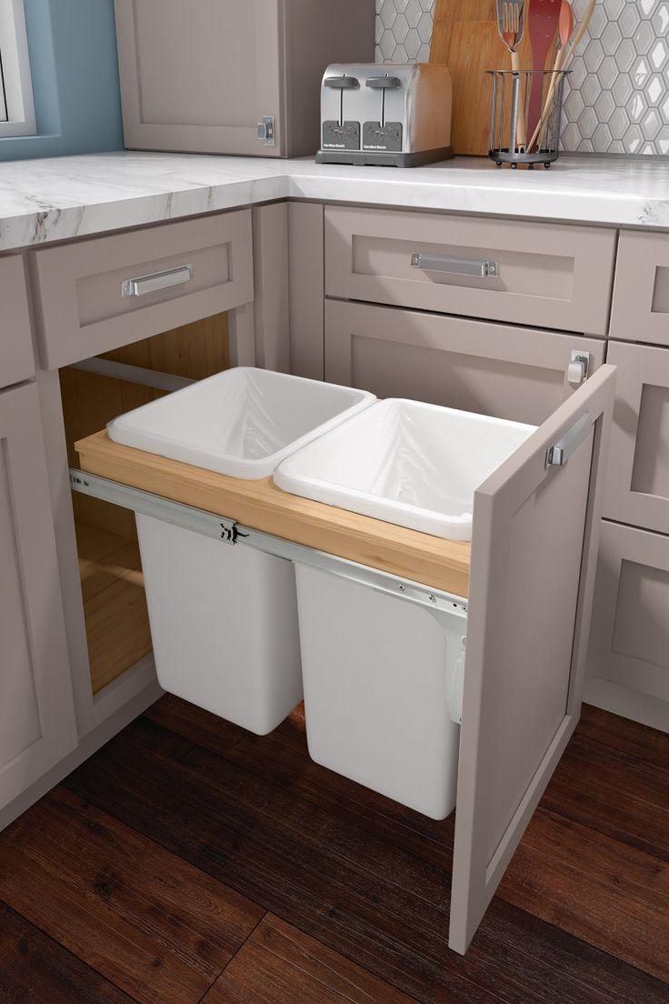 base top mount wastebasket double in 2020 kitchen design kitchen cabinet accessories on kitchen interior accessories id=72194