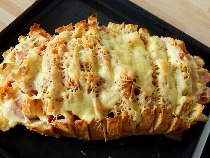 Töltött kenyér recept