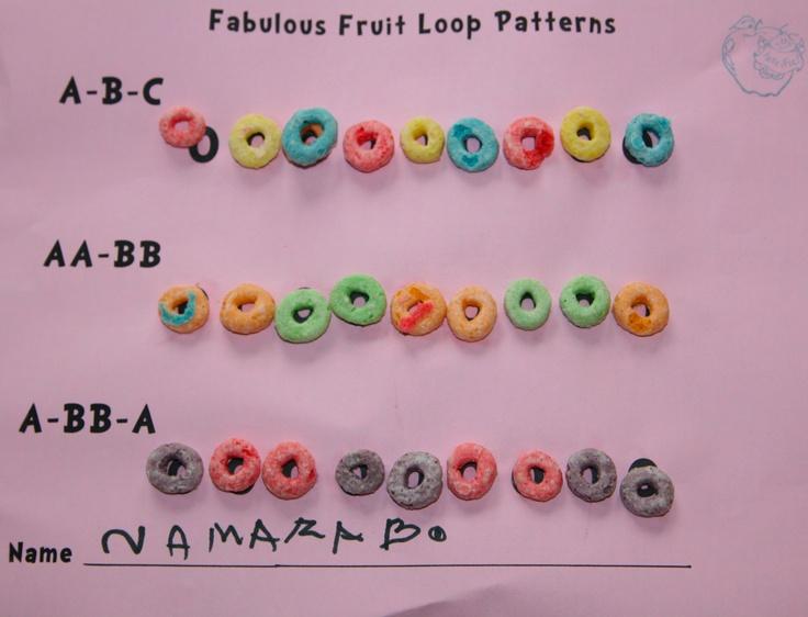 Fruit Loop Patterns