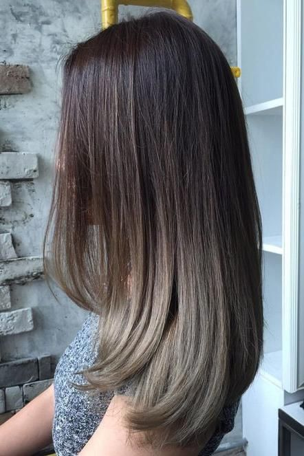 Brown Ombré Hair Color Ideas | Balayage hair, Short ombre hair, Brown ombre hair