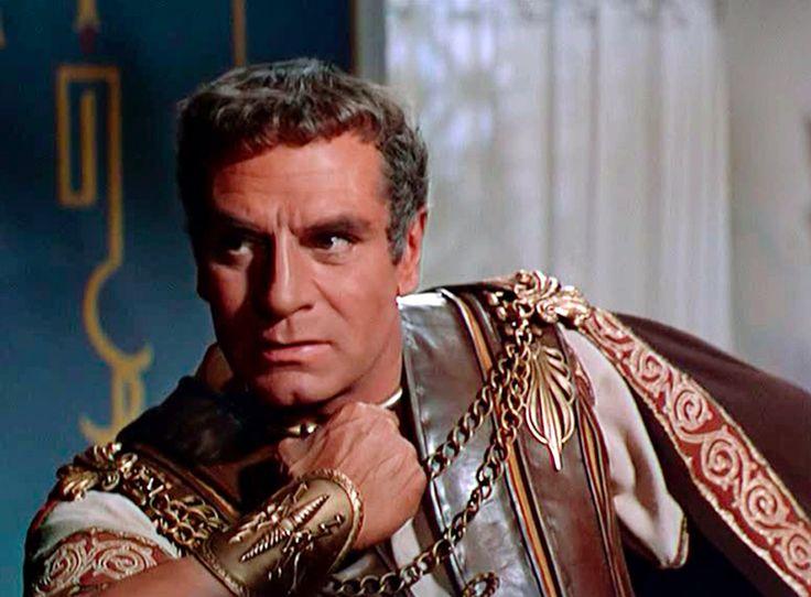 Marco Licinio Craso (Espartaco, 1960. Stanley Kubrick) interpretado por Sir Laurence Olivier (1907-1989).
