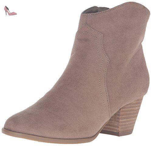 Carlos by Carlos Santana Harper Femmes US 7.5 Gris Bottine - Chaussures carlos by carlos santana (*Partner-Link)