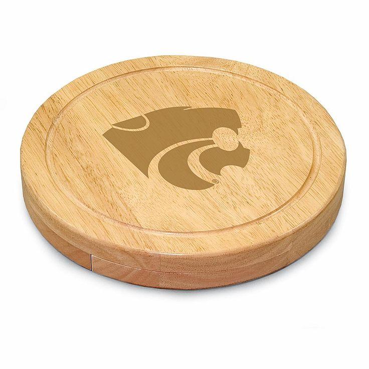 Picnic Time Circo Cheese Board - Kansas State University