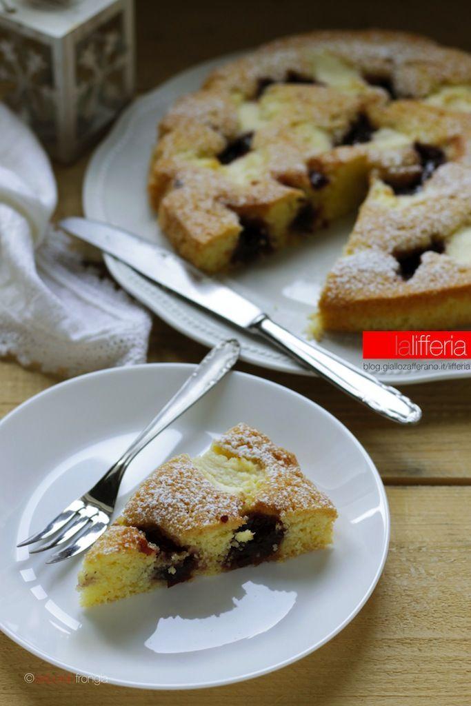 Crostata morbida in 10 minuti con ricotta e confettura