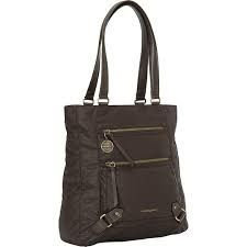 """Hedgren Goal Tote: Java Brown The goal tote has room for a 14"""" laptop, a tablet and a4-sized documents. It has separate interior pockets for your phone, pens and other small accessories needed on your business trip. the shoulder strap is fixed. Comes with a two year warranty"""