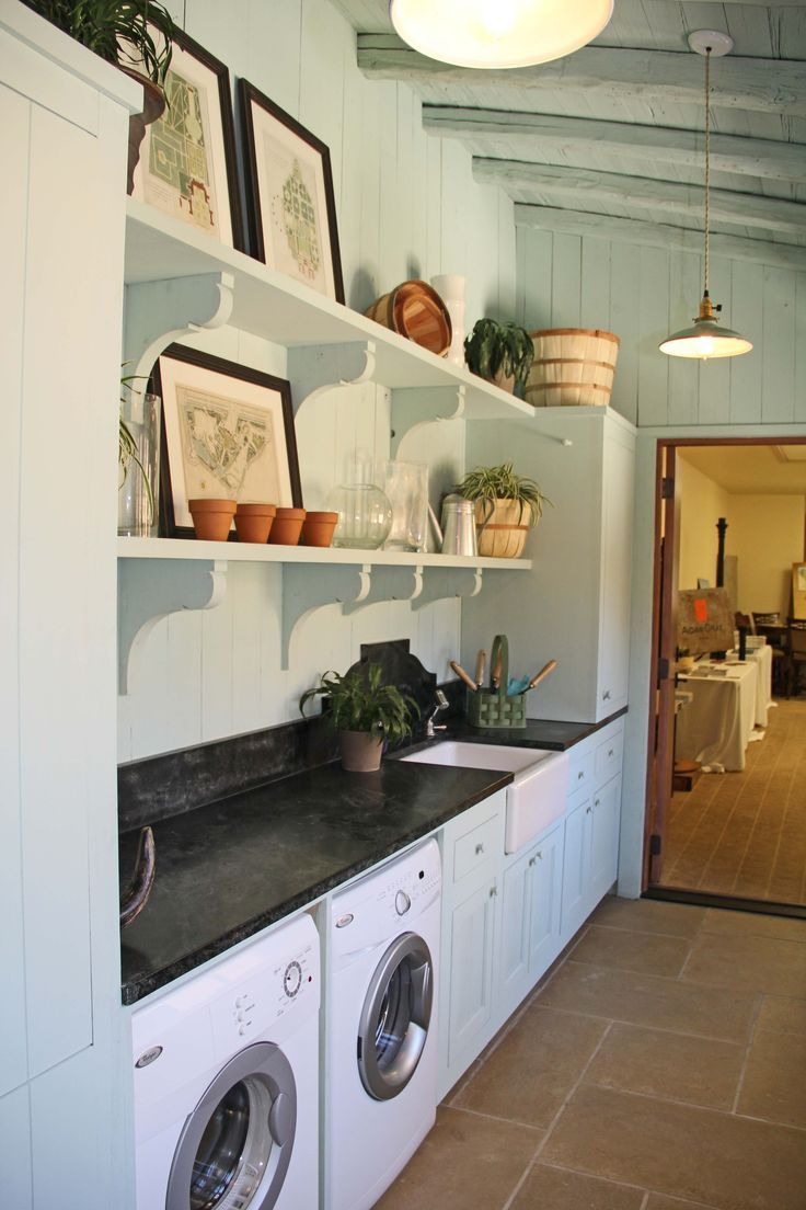859 best Laundry Rooms images on Pinterest Farmhouse laundry