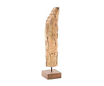 Декоративная фигурка - манго - коричневый - В81,5хШ16,5хД20,5