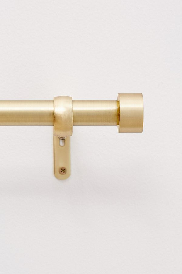 Cappa Curtain Rod Gold Curtain Rods Curtain Rods Brass Curtain Rods