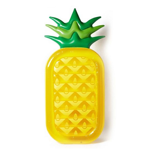 Giant Inflatable Pineapple Pool Float #pooltoys #inflatables #pineapples #summer #fun #pooltime #beach #nerozeroshop