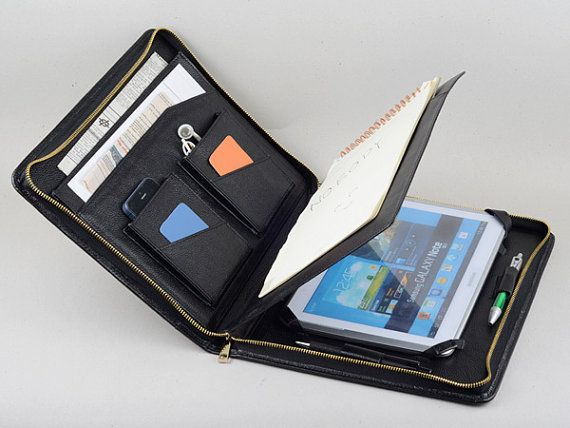 Galaxy Note 2 and 2014 Edition 10.1 inch Leather by leathercase, $125.00