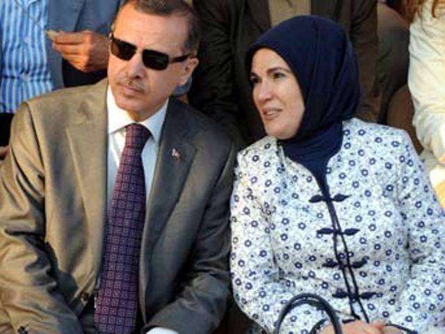 Recep Tayyip Erdogan & Emine Erdogan