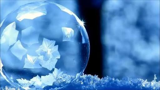 凍った シャボン玉 - Google 検索