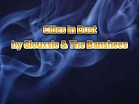 Siouxsie & The Banshees - Cities in Dust [Karaoke] - YouTube