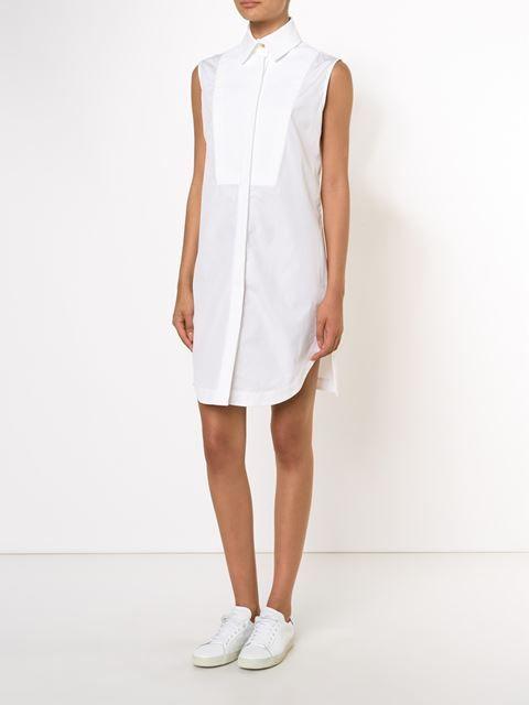 Ports 1961 платье-рубашка без рукавов с нагрудной панелью