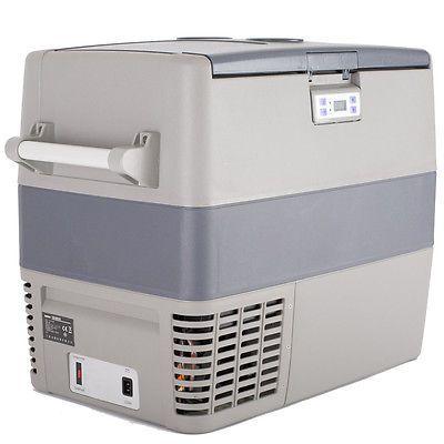 ﹩415.20. SMAD Mini Portable Car Refrigerator Freezer Compressor Cooler Truck RV 49L    Type - mini portable compressor car  fridge, Net Capacity: - 1.7 cu ft (49L), Freezer Capacity: - 1.4 cu ft (39L), Fridge Capacity: - 0.4 cu ft (10L), Temperature Range: - -0.4℉~50℉(-18℃~10℃), Net Weight: - 37 lb, Dimension(W*D*H) - 28.5*14.8*20.2 inch, Manufacturer Part Number - YT-B-50P-2, Warranty - Yes, UPC - 723740794861