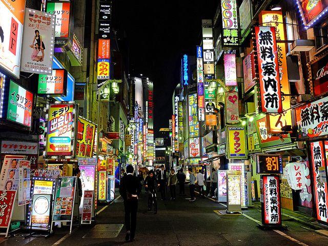 heartisbreaking:  Kabukicho, Tokyo by tee19810富士フイルム on Flickr.