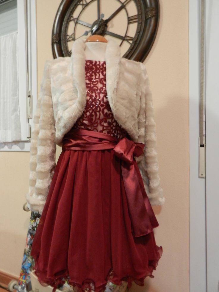 Vestido y Chaqueta para una boda muy especial.