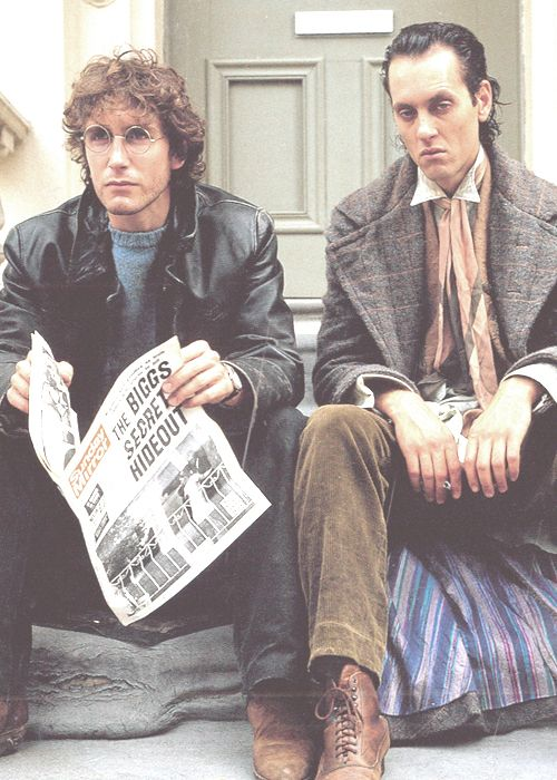 Withnail and I: Paul McGann, Richard E. Grant. Directed by Bruce Robinson.    'We want the finest wines available to humanity. And we want them here, and we want them now!'