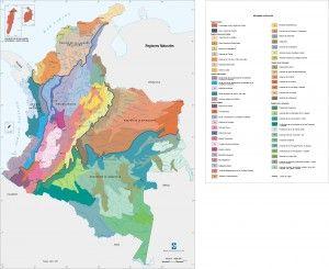 Las Regiones Naturales de Colombia