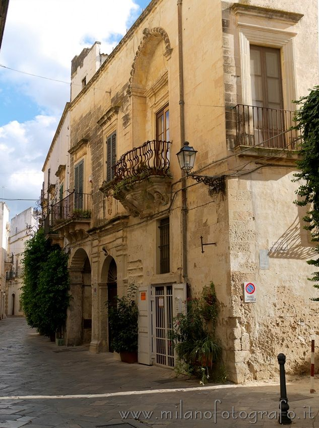 Old house in Galatina (Lecce, Italy)