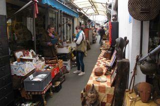 rommelmarkt in Parijs