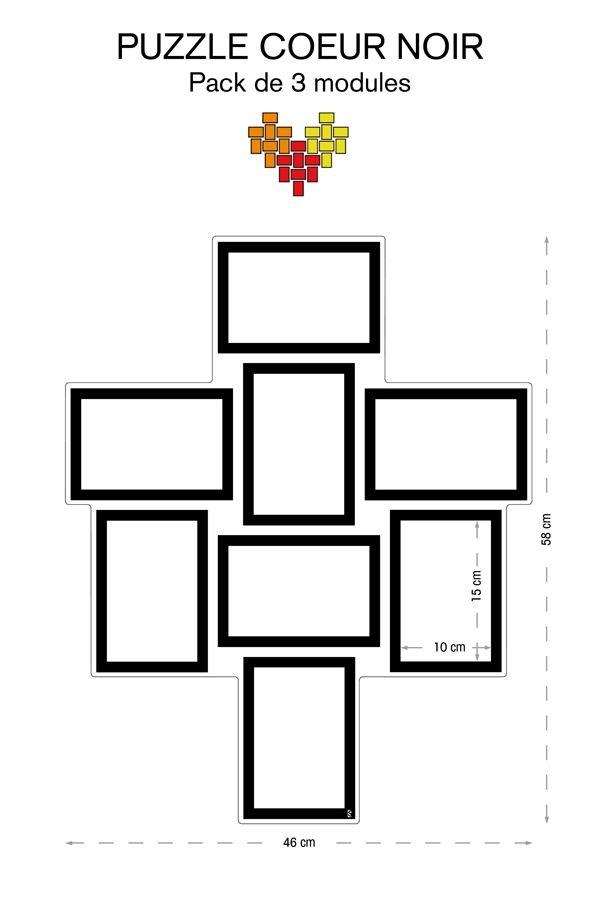 les 25 meilleures id es de la cat gorie cadre photo pele mele sur pinterest cadre photo de. Black Bedroom Furniture Sets. Home Design Ideas