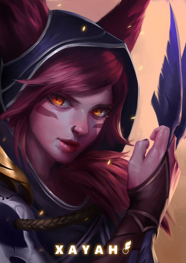 Xayah; League of Legends