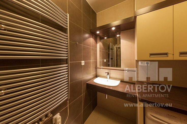 Albertov Rental Apartments offers short term rentals in Prague. You will have an excellent comfort for a good price. Every flat is fully equipped. See this modern designed bathroom...  For more information go there: http://www.prague-rental-apartments.com/short-term-rentals/all-about-short-term-rentals-prague.html