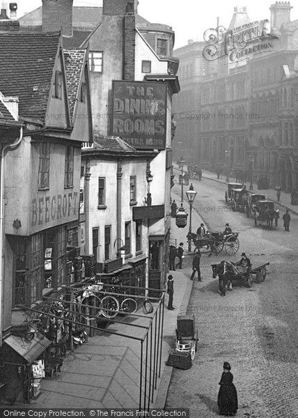 Nottingham, Cheapside 1890. © Copyright The Francis Frith Collection 2009.