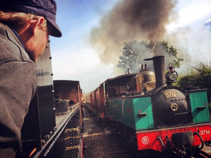 little brightness, railway, engine, preserved railway, steam, chemin de fer de la baie de somme