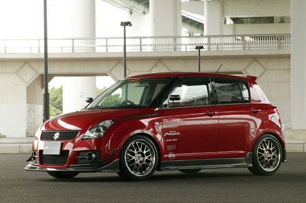 Modified Suzuki Swift 2010