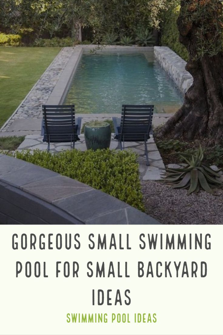 47++ Ideas for pools in small backyard ideas