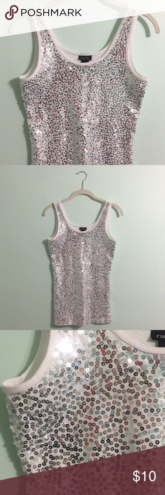 Best 25+ Sequin tank tops ideas on Pinterest | Sequin tank ...