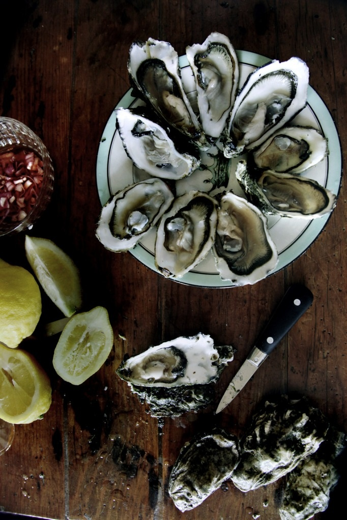Days of wine and oysters