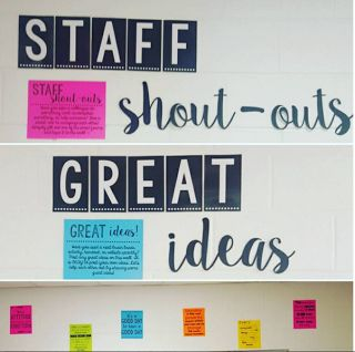 Staff Morale Boosters ~ The Engaging Station